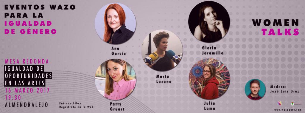WomenTalks Mujer en las artes